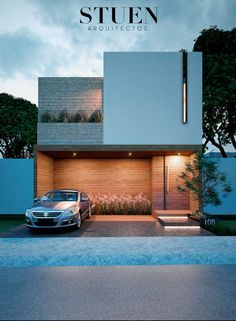 how to design like an architect a modern home Minimalist Architecture, Modern Architecture House, Facade Architecture, Residential Architecture, Villa Design, Facade Design, Exterior Design, Design Art, House Front Design