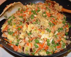 Freakin' Fantastic Fried Rice Rice Recipes, Asian Recipes, Cooking Recipes, Ethnic Recipes, Oriental Recipes, Easy Recipes, Casserole Recipes, Egyptian Recipes, Chicken Recipes