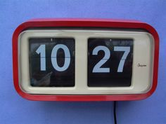 Grayson Flip Clock 70s  Just found this one on Ebay