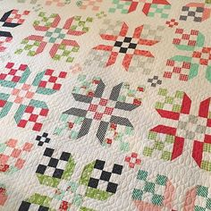 Incredibly beautiful quilting by Abby @alatimer on my Early Bird quilt