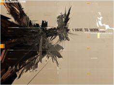 Download I Have To Work Wallpaper #50 | 3D & Digital Art Wallpapers