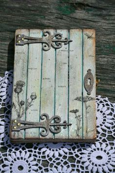 Fairy House: How to Make Amazing Fairy Furniture Gnome House, Gnome Door, Fairy Crafts, Fairy Furniture, Wooden Furniture, Fairy Doors, Fairy Garden Doors, Diy Fairy Door, Garden Gate