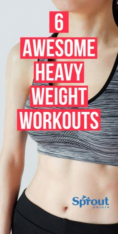 Want to build a stronger, leaner physique? Check out these awesome heavy weight workouts to help you lose weight and build a stronger sexy body! Weight Workouts, Body Workouts, Six Pack Abs Workout, Lose Weight, Weight Loss, Strong Body, Tone It Up, Kettlebell, Sexy Body