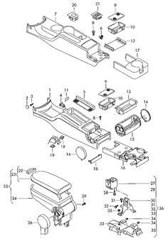 Gears and shafts manual transmission Volkswagen (VW
