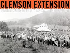 Extension Bulletin circa 1930. Photo courtesy of Clemson University Library Archives. #ClemsonExt100