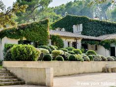 This ivy-covered #vacation #rental in #Provence is the perfect place to sip lemonade and ponder the meaning of life.  http://www.nyhabitat.com/south-france-apartment/vacation/1186