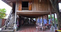 Homestay in Mai Chau. North Vietnam, Hanoi, Cabin, House Styles, Travel, Trips, Cabins, Viajes, Cottage