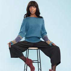 DG338-04 PAUL SLIPOVER | Dale Garn Blouse, Long Sleeve, Sleeves, Tops, Design, Women, Fashion, Threading, Moda