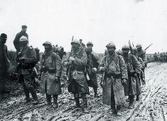 French Infantery, WWI. Infanterie française, la Première Guerre mondiale.