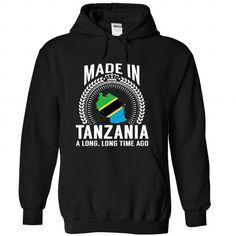 Made in Tanzania - #couple hoodie #sweatshirt design. CLICK HERE => https://www.sunfrog.com/States/Made-in-Tanzania-nknzrmhzor-Black-Hoodie.html?68278