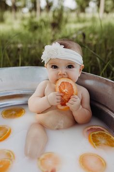 ideas for baby bath photography newborn