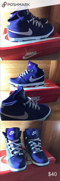 Women's Nike Dunk's, Purple/White Worn once 9.8/10 condition. Will ship within 24hrs of purchase. Box not included. Nike Shoes Athletic Shoes