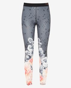 Monorose sports leggings - Black | Fit to a T | Ted Baker