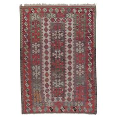 Konya Kilim | From a unique collection of antique and modern more carpets at https://www.1stdibs.com/furniture/rugs-carpets/area-rugs-carpets/