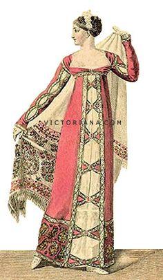 Fashion History   Regency Era