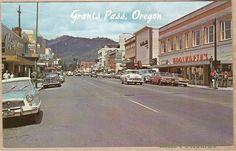 Grants Pass in the early 1960s. Memories, memories!