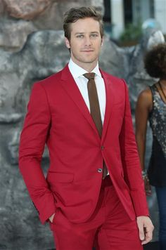 "Armie Hammer in red Gucci for London premiere of ""The Lone Ranger""   2013's best red carpet looks 