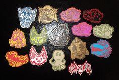 ALIENS Creature Monster Magnets