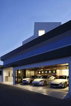 ガレージハウス Garage & Golf House アーキッシュギャラリー