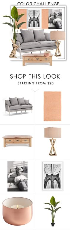 """Color challenge"" by sarks ❤ liked on Polyvore featuring interior, interiors, interior design, home, home decor, interior decorating, Martha Stewart, Catalina, Kay Bojesen and colorchallenge"