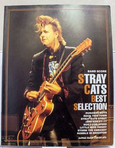 Stray Cats Best Selection Japan Band Score Sheet Music Book TAB