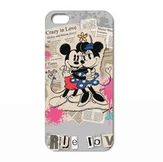 Mickey Mouse True Love cover case skin Iphone 4 4S 5 5S 5C 6 6  via evthm. Click on the image to see more!