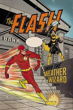 The Flash by Dave Johnson