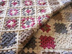 Hand crafted patchwork inspired Aran weight multi coloured crocheted single bed  throw/afghan/blanket Home décor/decorators piece - pinned by pin4etsy.com