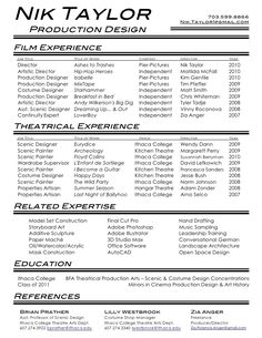 "Film Producer Sample Resume Classy Season Two  Episode 8 ""we Take Back The Theater"" Veronica White ."