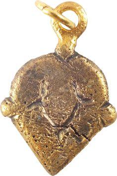 VIKING HEART PENDANT C.850-950 AD
