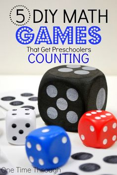 5 Fun DIY Games to Teach Preschoolers to Count
