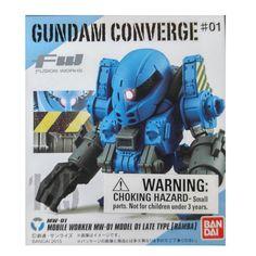 Gundam Converge Fusion Works MW-01 Late Type Ramba Mini Figure
