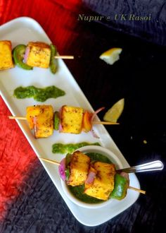 The Veggie Indian: Paneer tikka - made in pan, no oven or grill