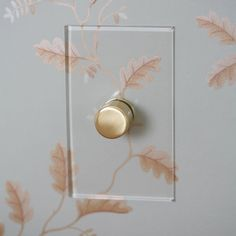 Forbes & Lomax have created an elegant alternative to the ordinary light switch