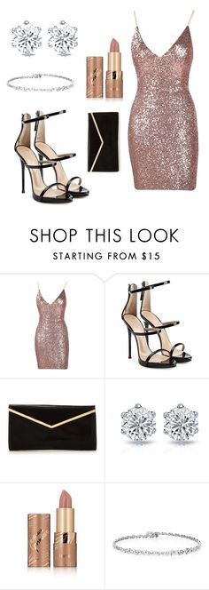 """Untitled #95"" by ajot on Polyvore featuring Giuseppe Zanotti and tarte"