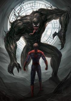 #Venom #SpiderMan