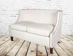 Alder and Tweed Montauk Settee. $1,055.