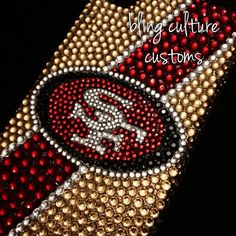 SF 49ers Bling Crystal Phone Case Made to Order for iPhone 6 6 ...