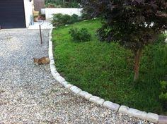 Bordo dritto da 25 cm per delimitare le aiuole del for Cordoli per giardino