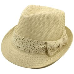TrendsBlue Women's Natural Ribbon Band Fedora Straw Hat and other apparel, accessories and trends. Browse and shop 8 related looks.