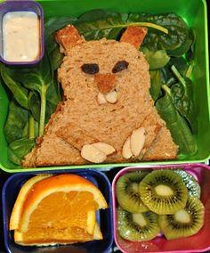 Such a cute, healthy lunch!