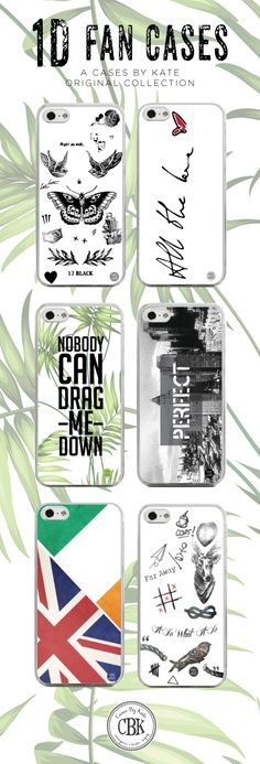 If you're a One Direction fan, you absolutely must check out our 1D Fan Cases at www.casesbykate.com!  #onedirection
