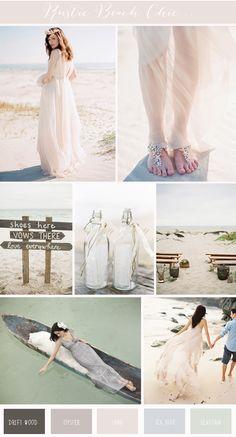 Rustic Beach Chic | Wedding Inspiration - Wedding Inspirations & Ideas | UK Wedding Blog: Want That Wedding Love the color palette
