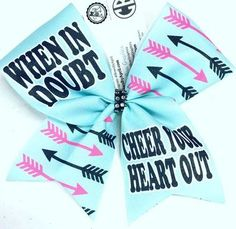 Bows by April custom bows are perfect for cheer bows (all star cheer, school cheer, rec cheer), softball bows, volleyball bows, track and field bows, basketball bows or any other sport or event you want to look fabulous for! Remember, all Bows by April™ custom bows are fully customizable.
