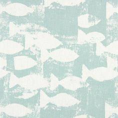Prestigious Textiles Pickle Fabrics Shoal Fabric - Azure - 5765/707