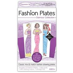 Fashion Plates Glamour Collection Expansion Set