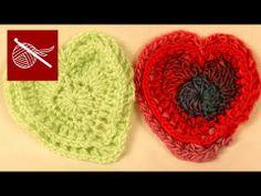 ▶ Crochet Heart SilverTip - YouTube