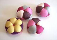 규방공예 - 꽃바늘방석