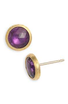 Marco Bicego 'Jaipur' Stone Stud Earrings | #nordstrom #earrings #jewelry