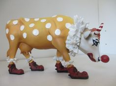 CowParade Clown by StarSteveStuff on Etsy, $59.95